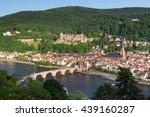 view on heidelberg  old town ... | Shutterstock . vector #439160287