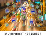 smart transportation concept.... | Shutterstock . vector #439168837
