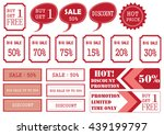 unique sale tags | Shutterstock .eps vector #439199797