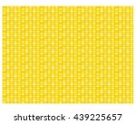 seamless corn pattern and... | Shutterstock .eps vector #439225657