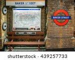 London March 2016. Baker Stree...