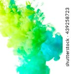 splash of paint. abstract... | Shutterstock . vector #439258723