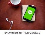 bangkok  thailand   june 17...   Shutterstock . vector #439280617