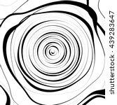 irregular spiral background in... | Shutterstock .eps vector #439283647