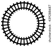 1415 railroad track clip art border | Public domain vectors