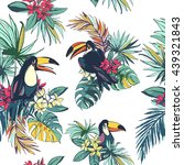 vector illustration tropical...   Shutterstock .eps vector #439321843
