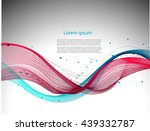 abstract gray background with... | Shutterstock .eps vector #439332787