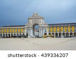 the augusta street arch at...   Shutterstock . vector #439336207