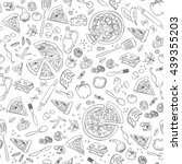 Pizza Seamless Pattern. Useful...