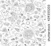 Pizza Seamless Pattern. Useful...