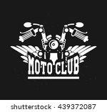 Vector Motorcycle Club Emblem...