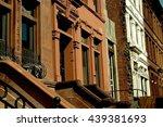 new york city   april 6  2005   ... | Shutterstock . vector #439381693