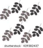 dark branches | Shutterstock .eps vector #439382437