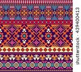 abstract seamless pattern. boho ... | Shutterstock . vector #439400413