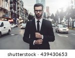 Confident Businessman....