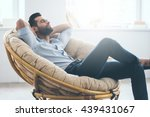 Total Relaxation Handsome Young Man - Fine Art prints