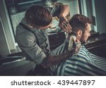 confident man visiting...   Shutterstock . vector #439447897