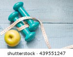 fitness and diet abstract... | Shutterstock . vector #439551247