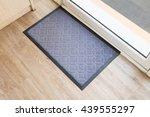 black carpat in coffee shop. | Shutterstock . vector #439555297