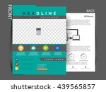 business flyer  | Shutterstock .eps vector #439565857