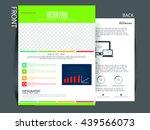 business flyer  | Shutterstock .eps vector #439566073