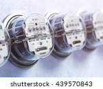 Row Of Analog Electric Meters....