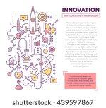 vector creative concept... | Shutterstock .eps vector #439597867