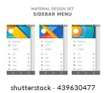 vector set of material design...