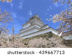 sakura and tsurukejo | Shutterstock . vector #439667713