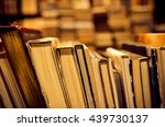 used books in the bookstore | Shutterstock . vector #439730137