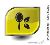 hand mirror line icon | Shutterstock .eps vector #439756387