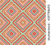 striped diagonal rectangle... | Shutterstock .eps vector #439798693