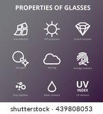 vector eye care  glasses... | Shutterstock .eps vector #439808053