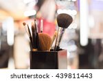 professional makeup brush | Shutterstock . vector #439811443