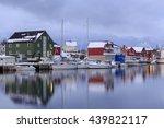 henningsvaer  norway   february ... | Shutterstock . vector #439822117