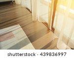 sunrise through transparent... | Shutterstock . vector #439836997
