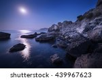 Colorful Night Landscape With...