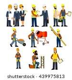 construction engineering... | Shutterstock .eps vector #439975813