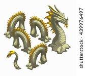 A Sand Sculpture Of A Dragon...