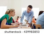education  school  learning ... | Shutterstock . vector #439983853