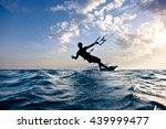Kite Boarding. Kitesurf...