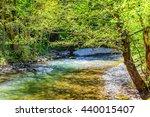 hdr image river gradac | Shutterstock . vector #440015407