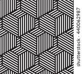 seamless geometric pattern in... | Shutterstock . vector #440062987
