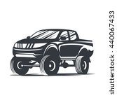 off road car logo  emblem ... | Shutterstock . vector #440067433