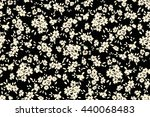 seamless flower pattern. vector ... | Shutterstock .eps vector #440068483