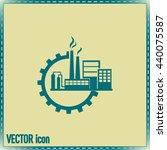 industrial icon | Shutterstock .eps vector #440075587
