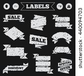 stickers  tags and banners with ...   Shutterstock .eps vector #440094703