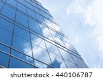 clouds reflected in windows of... | Shutterstock . vector #440106787