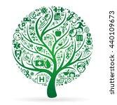medical tree | Shutterstock .eps vector #440109673