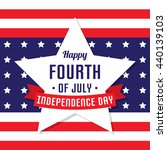 happy independence day  united... | Shutterstock .eps vector #440139103